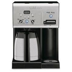 Cuisinart 10-Cup Programmable Coffeemaker  and Hot Water System with Thermal Carafe CHW-14