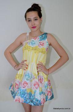 4e95e2ed3 34 melhores imagens de vestidos | Cute dresses, Fashion clothes e ...