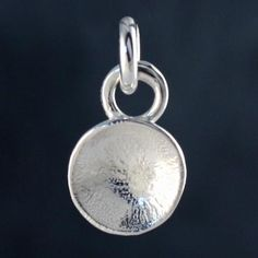 silver concave charm by fi mehra