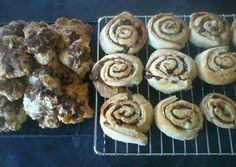 Cinnamon buns and pastries