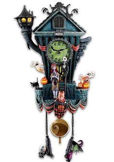 Tim Burton's The Nightmare Before Christmas Cuckoo Clock