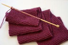 Beginner's knitting -