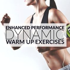 At Home Full Body Dynamic Warm Up Exercises