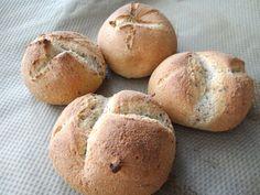 Low Carb Broetchen Rezept. Eiweiß Broetchen mit Johgurt.
