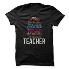 I Am A Teacher Great Shirt - #sweater boots #sweater shirt. SATISFACTION GUARANTEED => https://www.sunfrog.com/Funny/I-Am-A-Teacher-Great-Shirt.html?68278