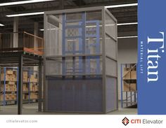 CITI Elevators Pitless (optional) & Freight Platform Lift transport material/goods and an attendant safely and easily from one level to another, whether that is in storage facilities, warehouses, retail stores, health care facilities or anywhere else where freight needs to be moved over short distances.