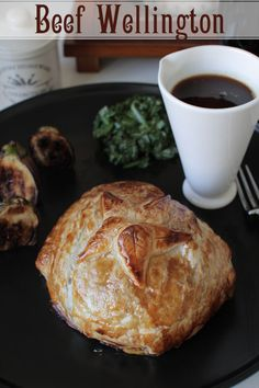 Easy Individual Beef Wellingtons -- my dad used to make this for my mom's birthday every year