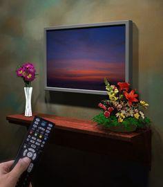 Frames for Flat Screen Televisions  -  www.framemyflatscreen.com