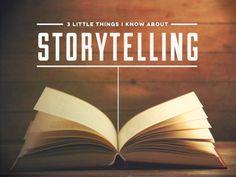 3 Storytelling Tips - From Acclaimed Writer Burt Helm by Ethos3 | Presentation Design and Training via slideshare