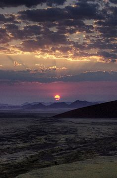 namib desert sunrise by mariusz kluzniak, via Flickr
