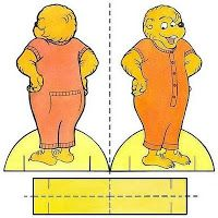 Berenstain Bears Paper Dolls: a great idea for your kids. a quick way to keep them occupied