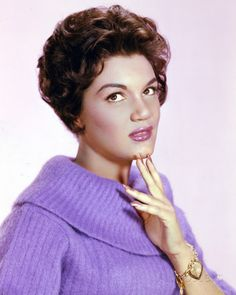 Connie Francis (born December 12, 1938) -  http://en.wikipedia.org/wiki/Connie_Francis   ||  Photo at AllPosters.com