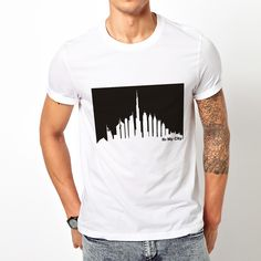 f4589e7ece8 It s My City (Dubai Skyline) T-Shirt