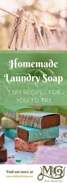 Click to learn 3 liquid laundry soap recipes for your homestead or pin it and for later