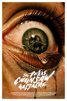 "Grey Matter Art will roll out another new poster for The Texas Chainsaw Massacre next week. Jason Edmiston's entry is a 24"" x 36"" ten color screenprint, has an"