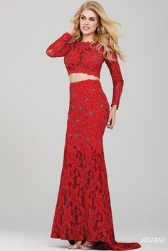 || Pure Couture Prom || Jovani Prom. red