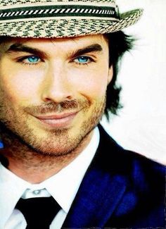 Ian Somerhalder..... I could look at his eyes for weeks and still not get enough. He needs to be named sexiest man alive