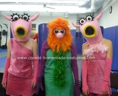 Holy sh*t, it's the Mahnah Mahnah characters from the Muppets - as a Halloween costume!