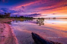 Texas+Lake+Sunrise