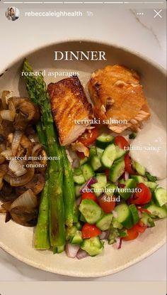 Healthy Snacks, Healthy Eating, Healthy Recipes, Good Food, Yummy Food, Health Dinner, Food Is Fuel, Food Goals, Aesthetic Food