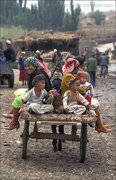 Market Day . Kashgar China