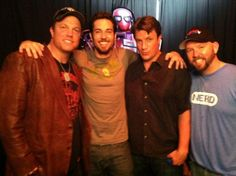 Adam Baldwin's Twitter: Recently, w/ @ZacharyLevi, @NathanFillion  @kentuckysocal at ‪#NerdHQ‬ - ‪#SDCC‬