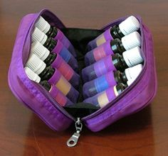 9511 Aroma Ready Travel Case Holds 10 Vials Essential Oil
