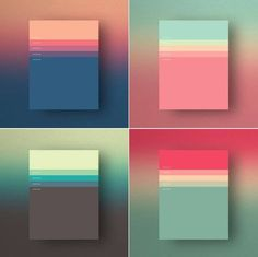 + The Minimalist Color Palettes of 2015