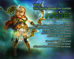 Awakened Main Character - Wind That Pierces through the Enemies, Archer | Dragon Blaze