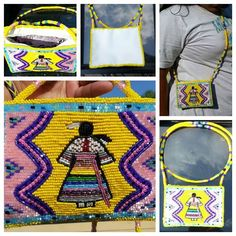 Beaded purse, Mckay family beadwork https://www.facebook.com/mckayfamilybeadwork?fref=photo