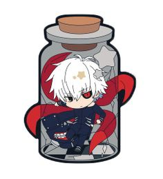 ↳ Product: Chara Thoria Tokyo Ghoul ↳ Release date: May 2015 [x] [x] [x]↳ I made these bottled cuties transparent for your blog!!