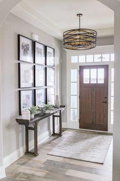 The Cozy Beaird House Home Design Decor, Diy Home Decor, House Design, Interior Design, Dining Table Rug, Console Table, Entrance Decor, Entryway Decor, Cabinet Decor