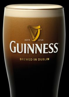 Guinness, a must drink in Ireland or anywhere, for that matter.