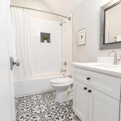 small bathroom storage ideas is definitely important for your home. Whether you pick the small laundry room or bathroom remodel beadboard, you will create the best bathroom remodeling for your own life. Bathroom Ideas Uk, Diy Bathroom, Bathroom Renos, White Bathroom, Bathroom Flooring, Bathroom Renovations, Bathroom Interior, Modern Bathroom, Master Bathroom