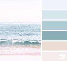 today's inspiration image for { color sea } is by . thank you, Ana, for another breathtaking image share! House Color Palettes, Color Schemes Colour Palettes, Paint Color Schemes, House Color Schemes, Colour Pallette, Beachy Paint Colors, Coastal Colors, Dorm Colors, Beach House Colors