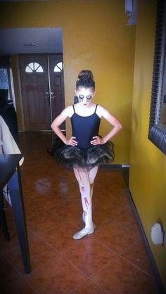 evil ballerina or dead ballerina - Ballet Halloween Costume