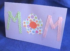 Used for last Mother's Day. I plan to use them for other things as well. You can use ribbon or strips of paper.
