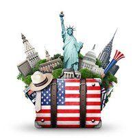 """Du möchtest nach Amerika reisen und bist über ein paar Tipps & Tricks dankbar? Dieser Reiseführer hilft dir. Total """"down to earth"""", von mir erlebt, für euch aufgeschrieben. Dieses Buch ist gleichzeitig eine Liebeserklärung an mein Lieblingsland USA.  www.hamburgersafari.de  Hamburgersafari"""