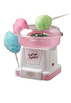 Nostalgia Hard & Sugar-Free Candy To Cotton Candy Maker. The cotton candy maker transforms your favorite hard and sugar-free candies into fluffy, melt-in-your-mouth cotton candy. Hard Candy, Cool Kitchen Gadgets, Cool Kitchens, Cotton Candy Cone, Nostalgia, Sugar Free Candy, Geek Gadgets, Top Gadgets, Jolly Rancher