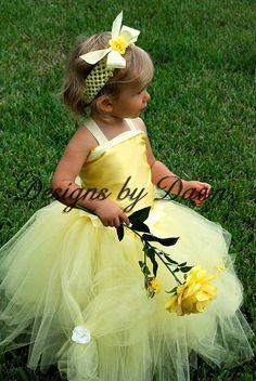 flower girl - custom made - via Etsy.