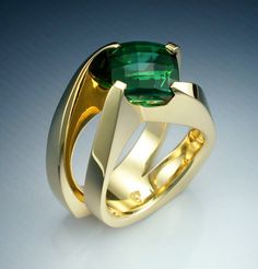 Green Tourmaline | Prettier to me than Emeralds!! Love!
