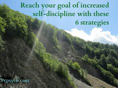 Reaching Your Goal of Increased Self-discipline | Park Ridge Psychological Services