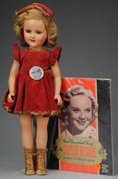 "1939-Madame Alexander Ice Skating Star ""Sonja Henie"""