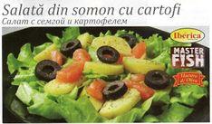 Un fel de jurnal: Salată din somon cu cartofi