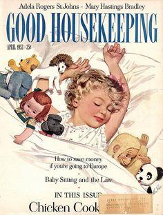 Good Housekeeping, April 1953