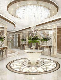 Luxury Homes Interior design & Inspiration Luxury Home Decor, Luxury Interior Design, Luxury Homes, Luxury Bed, Contemporary Interior, Interior Ideas, Mansion Interior, Interior And Exterior, Luxury Furniture