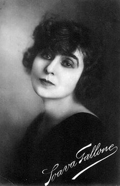 Soava Gallone - Polish silent film star. Born as Stanisława Winawerówna in Warsaw. Misconsidered as Italian, cause her husband was from Italy ;).