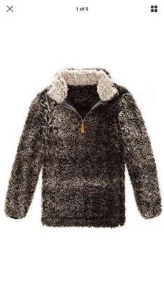 NWT-SHERPA-FLEECE-sweatshirt-pull-over-western-SPORTS- 49c3621b1