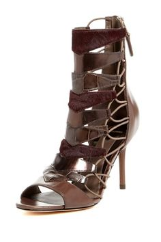 These are dooooope! Elody Open-Toe Bootie by B Brian Atwood on @HauteLook