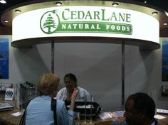 Cedarlane Booth at Natural Expo West